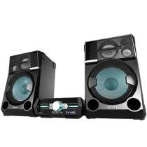 Mini System Sony 2 Caixas 3000W RMS - MP3 2 USB SHAKE 77