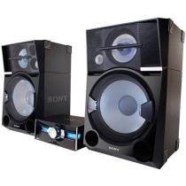 Mini System Sony 2 Caixas e Subwoofer 4000W RMS - 1 CD MP3 2 USB SHAKE 99