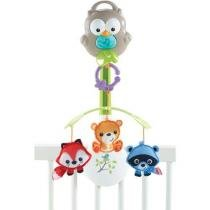 Móbile Bichinhos Bosque 3 em 1 - Fisher-Price