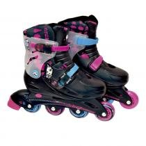 Monster High Patins com Acessórios 37 a 40 - Fun Divirta-se - 37 a 40 - Monster High