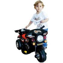 Moto Eltrica Infantil 6V BZ Cycle Preta