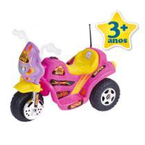 Moto Eltrica Infantil 6V TF-740 Rosa