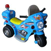 Moto Eltrica Infantil Azul 6V
