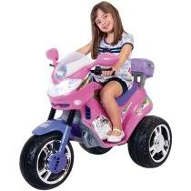 Moto Elétrica Infantil Fada 6V - Magic Toys