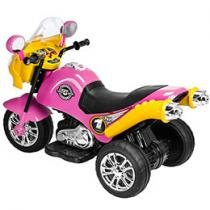 Moto Elétrica Speed Chooper 6V Rosa
