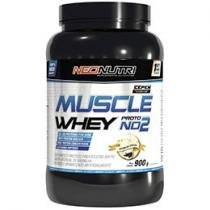 Muscle Whey Protein NO2 Morango 900g