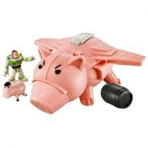 Nave Imaginext Toy Story 3 Porco Espacial