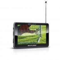 Navegador GPS Multilaser Tracker III Tela 5.0 com TV Digital Radio FM - GP036 -