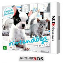 Nintendogs Cats French Buldog p/ Nintendo 3DS