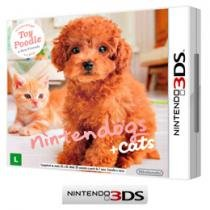 Nintendogs Cats Toy Poodle p/ Nintendo 3DS