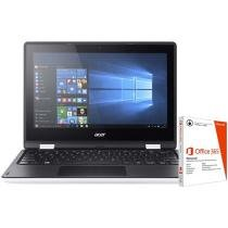 "Notebook 2 em 1 Acer Aspire R11 Intel Quad Core - 4GB 1TB LED 11,6"" Touch Screen + Pacote Office 365"