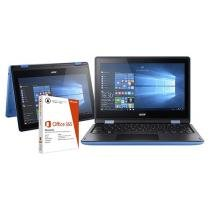 """Notebook 2 em 1 Acer Aspire R11 Intel Quad Core - 4GB 500GB LED 11,6"""" + Pacote Office 365 Personal"""