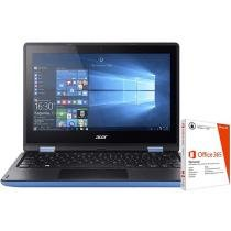 "Notebook 2 em 1 Acer Aspire R11 Intel Quad Core - 4GB 500GB LED 11,6"" + Pacote Office 365"