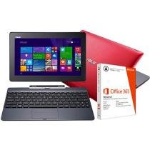 Notebook 2 em 1 Asus Transformer Book T100 - com Intel Quad Core 2GB 500GB Windows 8.1 LED 10,1