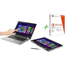 Notebook 2 em 1 Dell Inspiron 13 i13-7348-B10 - Windows 8.1 + Pacote Office 365 Personal