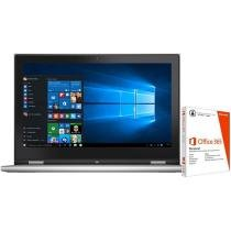 Notebook 2 em 1 Dell Inspiron 13 i13 7348-C40 - Intel Core i7 8GB 500GB + Pacote Office 365