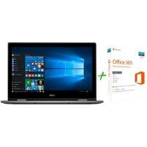 Notebook 2 em 1 Dell Inspiron 15 i15-5578-A10C - Intel Core i5 8GB 1TB LED + Microsoft Office 365