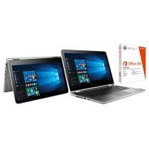 Notebook 2 em 1 HP 13-s104br x360 Convertible - Pavilion Intel Core i5 8GB 1TB LED + Pacote Office