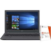 """Notebook Acer Aspire E5-574G-75ME Intel Core i7 - 8GB 1TB LCD 15,6"""" + Pacote Office 365"""