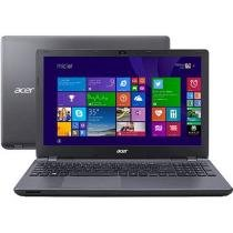 Notebook Acer Aspire E5 com Intel Core i5 - 4GB 1TB Windows 8.1 Tela 15,6 Placa de Vídeo 2GB