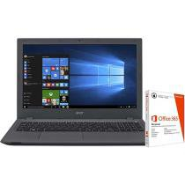 "Notebook Acer Aspire E5 Intel Core i5 - 4GB 1TB LED 15,6"" + Pacote Office 365"