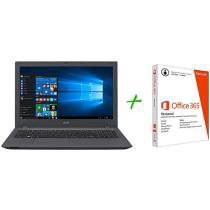 Notebook Acer Aspire E5 Intel Core i7 - 8GB 1TB Windows 10 LED 15,6 + Pacote Office 365