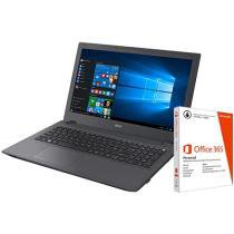 Notebook Acer Aspire E5 Intel Core i7 - 8GB 1TB Windows 10 + Pacote Office 365 Personal