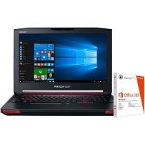 "Notebook Acer Predator Intel Core i7 - 16GB 1TB LED 17,3"" + Pacote Office 365"