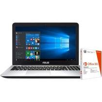 "Notebook Asus K555LB Intel Core i5 - 8GB 1TB LED 15,6"" + Pacote Office 365"