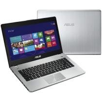 Notebook Asus N Series N46VM-V3081H Intel® Core i7 - 8GB 1TB Windows 8 LCD 14 Placa de Vídeo 2GB HDMI