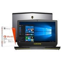 "Notebook Dell Alienware 15 AW-15R2-A10 Intel Core - i5 8GB 1TB LCD 15,6"" + Pacote Office 365 Personal"