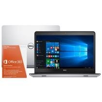 """Notebook Dell Inspiron 14 I14-5448-C25 Intel Core - i7 8GB 1TB Windows 10 LED 14"""" + Pacote Office 365"""