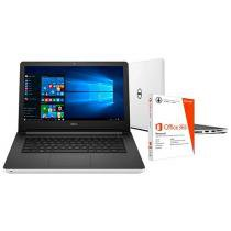 """Notebook Dell Inspiron 14 I14-5458-BB10 Intel Core - i3 4GB 1TB LED 14"""" Windows 10 + Pacote Office 365"""
