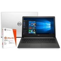 """Notebook Dell Inspiron 15 I15-5558-A50 Intel Core - i7 8GB 1TB LED 15,6"""" + Pacote Office 365 Personal"""