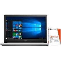 "Notebook Dell Inspiron 15 I15-5558-B30 Intel Core - i5 4GB 1TB LED 15,6"" + Pacote Office 365"