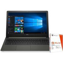 "Notebook Dell Inspiron 15 I15-5558-B40 Intel Core - i5 8GB 1TB LCD 15,6"" + Pacote Office 365"