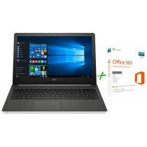 Notebook Dell Inspiron 15 i15-5566-A50B Série 5000 - Intel Core i7 8GB 1TB LED + Microsoft Office 365