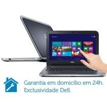 Notebook Dell Inspiron I14R 3660 c/ Intel® Core i7 - 8GB 1TB Windows 8 LED 14 Touch Placa de Vídeo 2GB