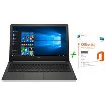"Notebook Dell Inspiron i15-5566-A70B Intel Core i7 - 8GB 1TB LED 15,6"" + Microsoft Office 365 Personal"