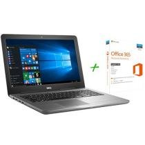 "Notebook Dell Inspiron i15-5567-A30C Intel Core i5 - 8GB 1TB LED 15,6"" AMD M445 + Microsoft Office 365"