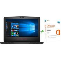 Notebook Gamer Dell Alienware 15 Intel Core i7 - 16GB 1TB SSD 256GB LED + Microsoft Office 365