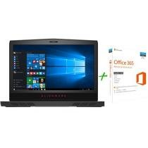 Notebook Gamer Dell Alienware 17 Intel Core i7 - 16GB 1TB SSD 256GB LED + Microsoft Office 365