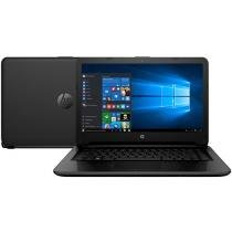 "Notebook HP 14-ac102br Intel Dual Core - 4GB 500GB LED 14"" Windows 10"