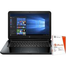 "Notebook HP 14-ap020 Intel Core i3 - 4GB 500GB LED 14"" Windows 10 + Pacote Office 365"