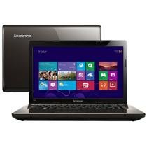 Notebook Lenovo G480 IMR c/ Intel® 1.7 GHz - 2GB 320GB Windows 8 LED 14 HDMI