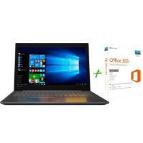 "Notebook Lenovo Ideapad 320 Intel Dual Core 4GB - 1TB LED 15,6"" Windows 10 + Microsoft Office 365"