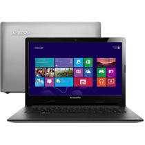 Notebook Lenovo IdeaPad S400 Série S - Intel® Core i3 4GB 500GB Windows 8 LED 14 HDMI