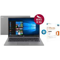 "Notebook LG Gram Intel Core i5 8GB 128GB - LCD 15,6"" + Microsoft Office 365 Personal 1TB"