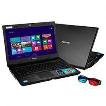 Notebook Positivo 3D Unique TV c/ Intel® Celeron® - Dual Core 6GB 250GB LED 14 Windows 8 HDMI