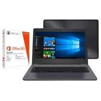 "Notebook Positivo Stilo One XC3570 Intel Quad Core - 32GB Flash LED 14"" Windows 10 + Pacote Office 365"